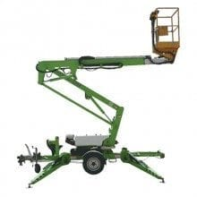 Trailer Mounted Boom - Boom Lift Hire - Access Equipment at Allcott Hire