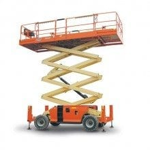 Diesel Scissor Lift Hire - Access Equipment Hire range at Allcott Hire