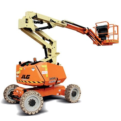 Knuckle Boom - Access Equipment range at Allcott Hire