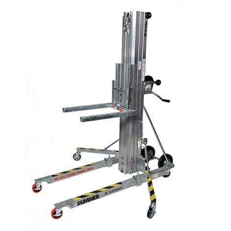 Material Hoist - Materials Handling Hire range at Allcott Hire