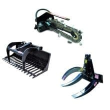 Mini Loader Accessories - Earthmoving Equipment Hire - Allcott Hire