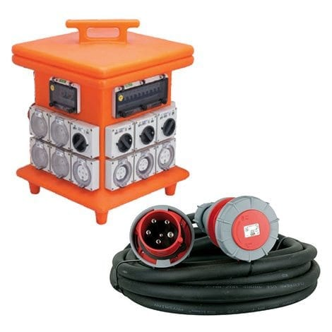 Power Distribution & Accessories - Allcott Hire - Rent Equipment