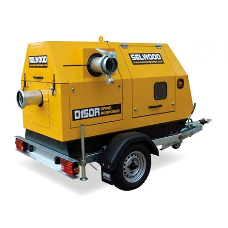 Trailer Mounted Pump for Hire