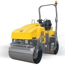Roller Double Drum - Compaction Equipment Hire - Allcott Hire