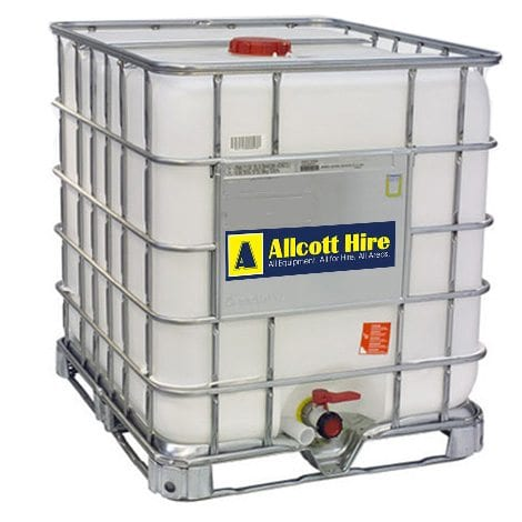 Water Storage Tanks - Allcott Hire - Rent at Affordable Rate