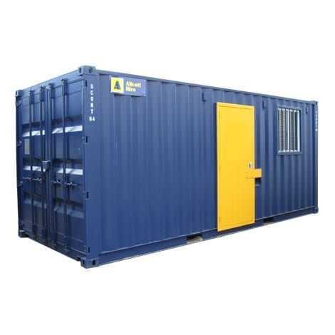 Containerised Site Shed