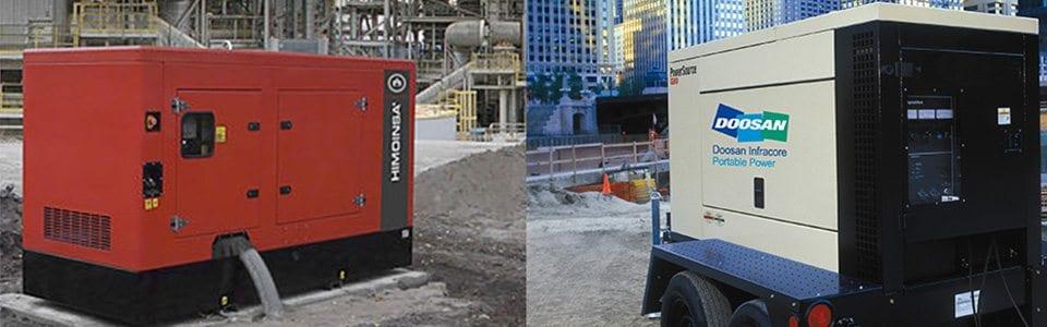 Portable Generator 3kva - 10kva - Allcott Hire - Generator Hire