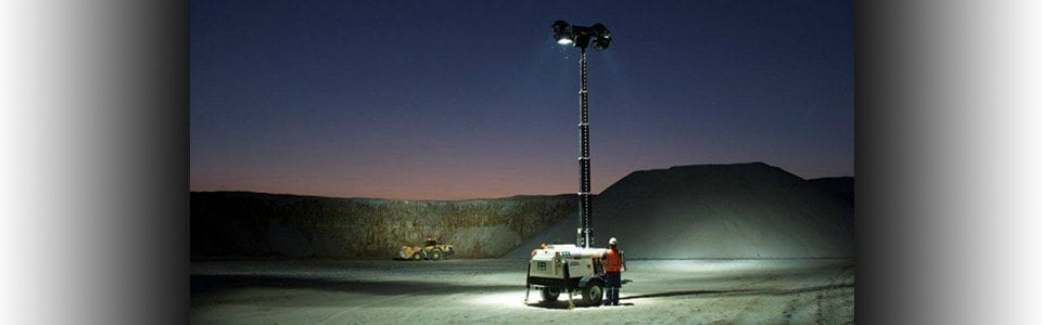 Lighting Hire at Allcott Hire - Portable Lighting Hire - Lighting Tower Hire