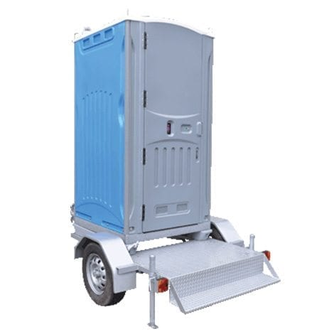 Portable Toilet Hire Trailer Mounted