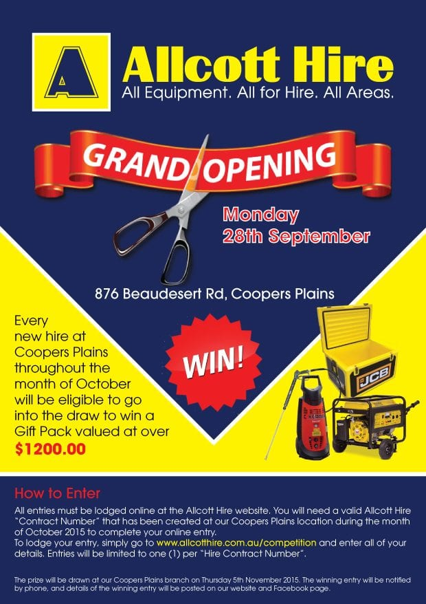 allcott-hire-coopers-plains-queensland